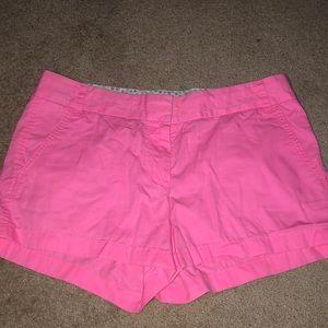 J.Crew Pink Shorts